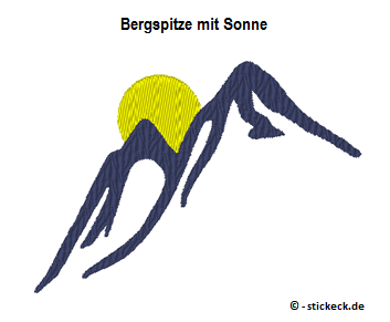 20170518 - Bergspitze mit Sonne - stickeck.de