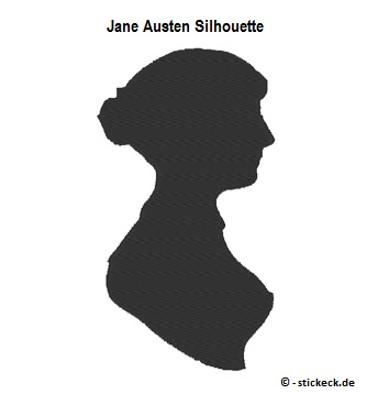 20170522 - Jane Austen Silhouette - stickeck.de