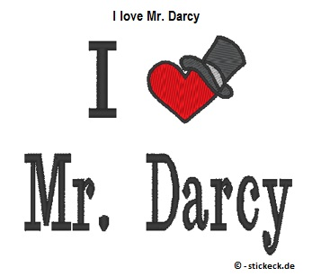 20170523 - I love Mr. Darcy - stickeck.de