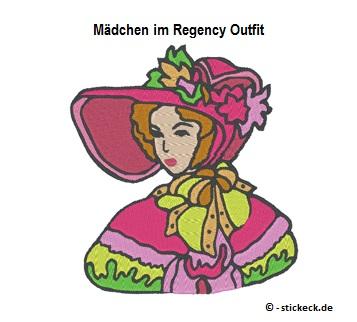 20170602 - Maedchen im Regency Outfit - stickeck.de