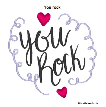 20170603 - You rock - stickeck.de
