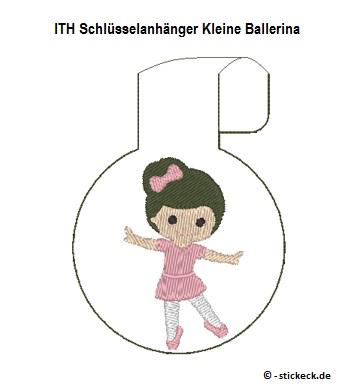 20170604 - ITH Schluesselanhaenger Kleine Ballerina - stickeck.de