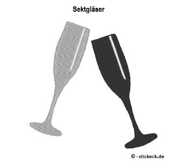 20170606 - Sektglaeser - stickeck.de