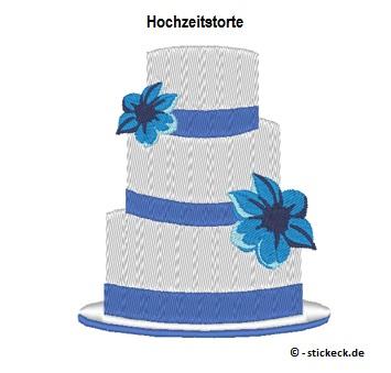 20170607 - Hochzeitstorte - stickeck.de