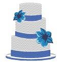Fichier à broder gratuit :Hochzeitstorte