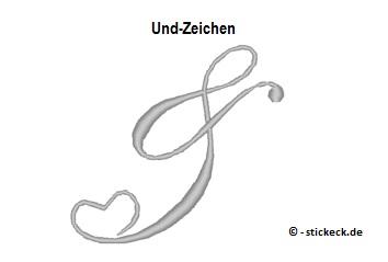 20170609 - Und-Zeichen - stickeck.de