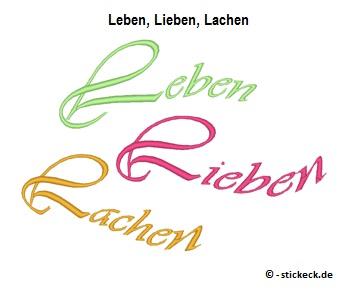 20170610 - Leben, Lieben, Lachen - stickeck.de