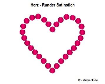 20170612 - Herz - Runder Satinstich - stickeck.de