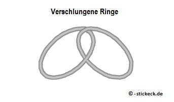 20170614 - Verschlungene Ringe - stickeck.de