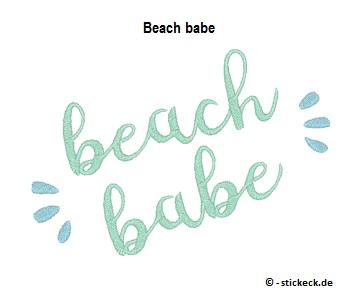 20170630 - Beach babe - stickeck.de