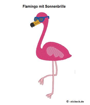 20170701 - Flamingo mit Sonnenbrille - stickeck.de