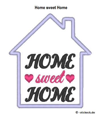 20170702 - Home sweet Home - stickeck.de