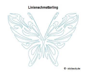 20170706 - Linienschmetterling - stickeck.de