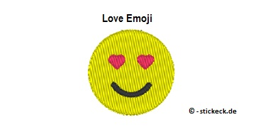 20170708 - Love Emoji - stickeck.de