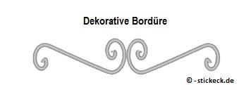 20170711 - Dekorative Borduere - stickeck.de
