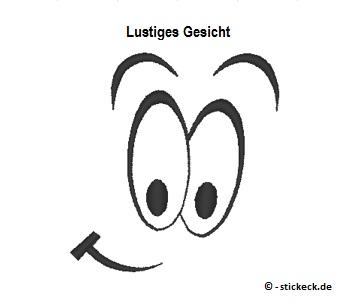 20170714 - Lustiges Gesicht - stickeck.de