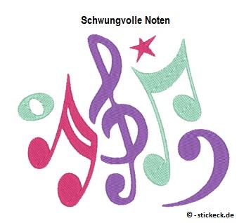 20170718 - Schwungvolle Noten - stickeck.de