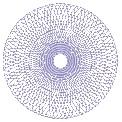 Freebie Stickdatei:Geometrisches Muster