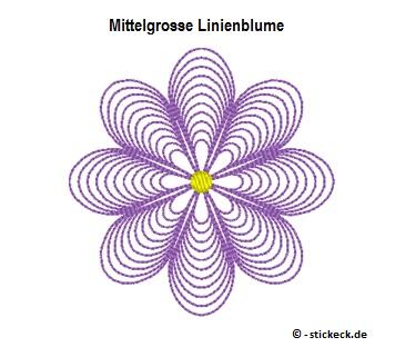 20170727 - Mittelgrosse Linienblume - stickeck.de