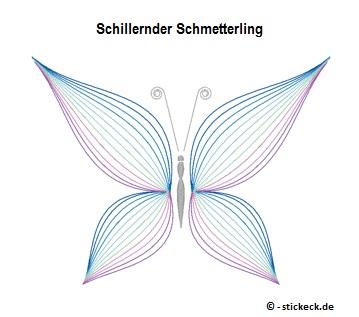 20170729 - Schillernder Schmetterling - stickeck.de