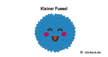 20170730 - Kleiner Fussel - stickeck.de