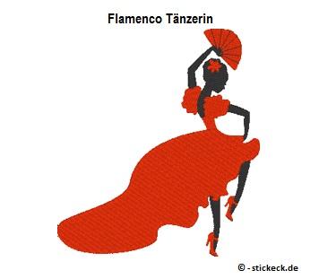 20170731 - Flamenco Taenzerin - stickeck.de
