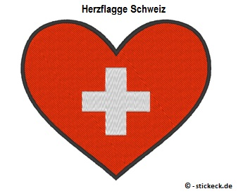 20170804 - Herzflagge Schweiz - stickeck.de