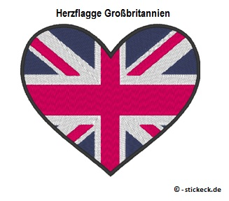 20170810 - Herzflagge Großbritannien - stickeck.de