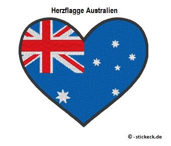 20170812 - Herzflagge Australien - stickeck.de