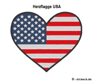 20170813 - Herzflagge USA - stickeck.de