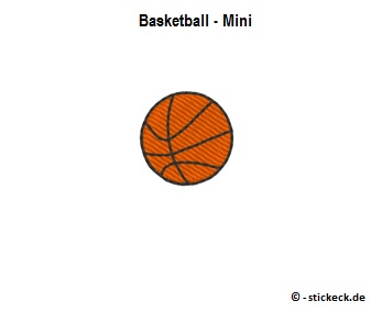 20170820 - Basketball - Mini - stickeck.de