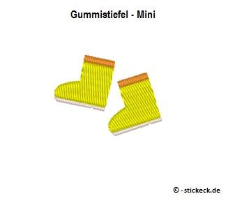 20170822 - Gummistiefel - Mini - stickeck.de