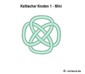 20170826 - Keltischer Knoten 1 - Mini - stickeck.de