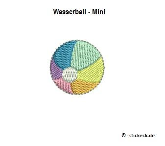 20170901 - Wasserball - Mini - stickeck.de
