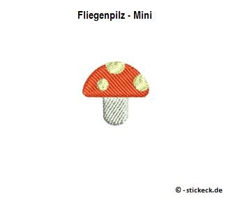 20170902 - Fliegenpilz - Mini - stickeck.de