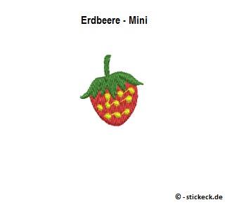 20170905 - Erdbeere - Mini - stickeck.de
