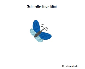 20170907 - Schmetterling - Mini - stickeck.de