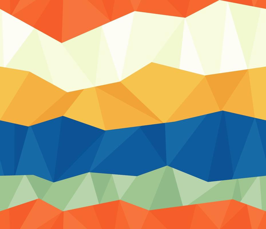 "Free vector ""Colorful Polygon Pattern"""