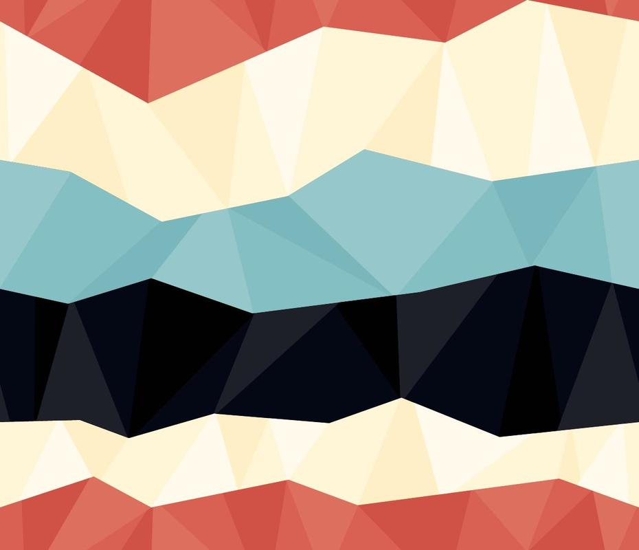 """Free vector """"Colorful Polygon Pattern"""""""