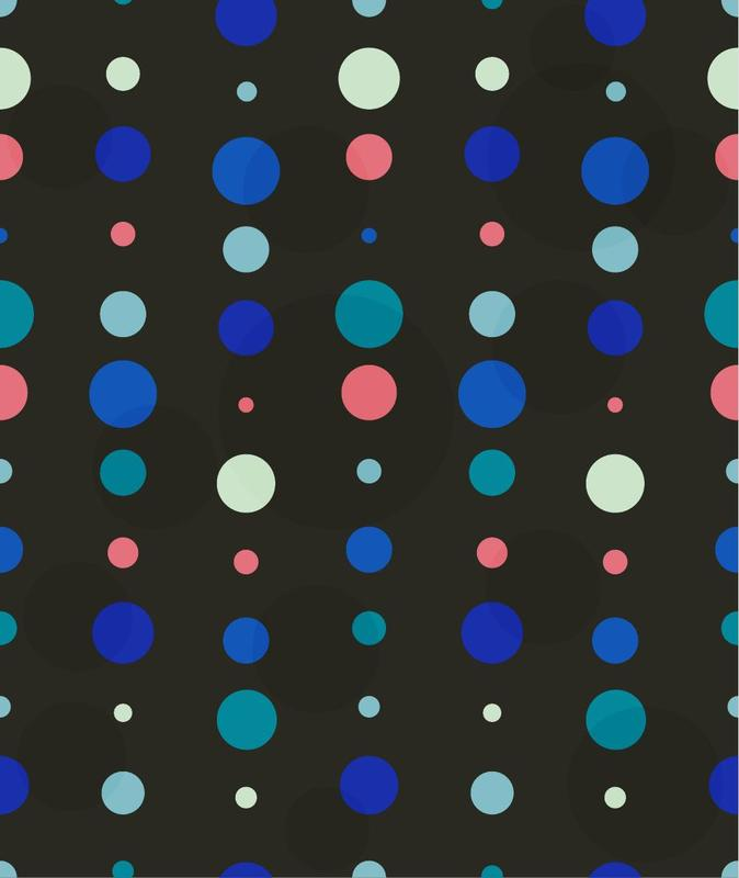 "Free vector ""Colorful Dots Pattern"""
