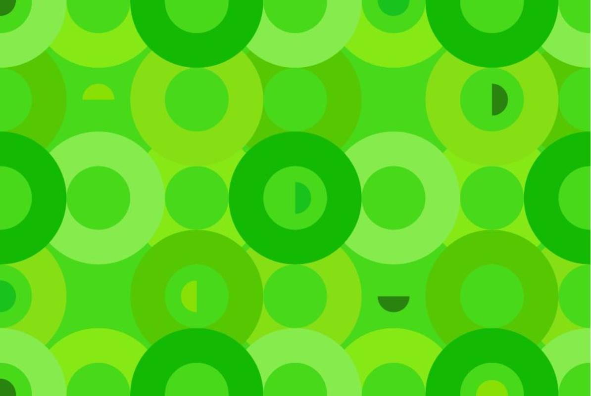 """Free vector """"Aqua Circles Pattern"""""""