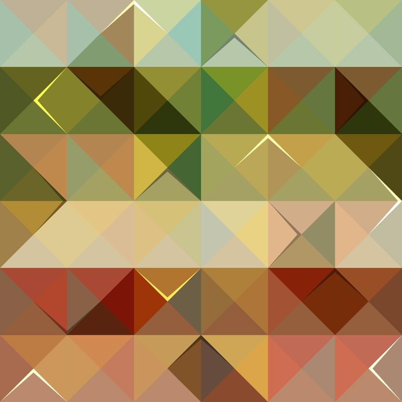 """Free vector """"Colorful Triangle Pattern"""""""