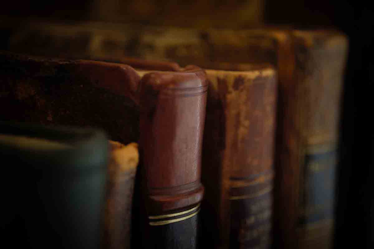 Free stock photo Close-up of hardcover books