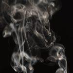 Free stock photo Close-up of smoke against black background