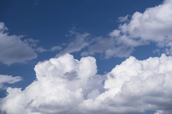 Free stock photo Scenic view of cloudscape against blue sky
