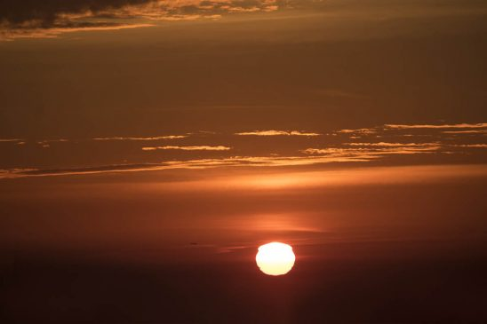 Free stock photo Scenic view of sunset