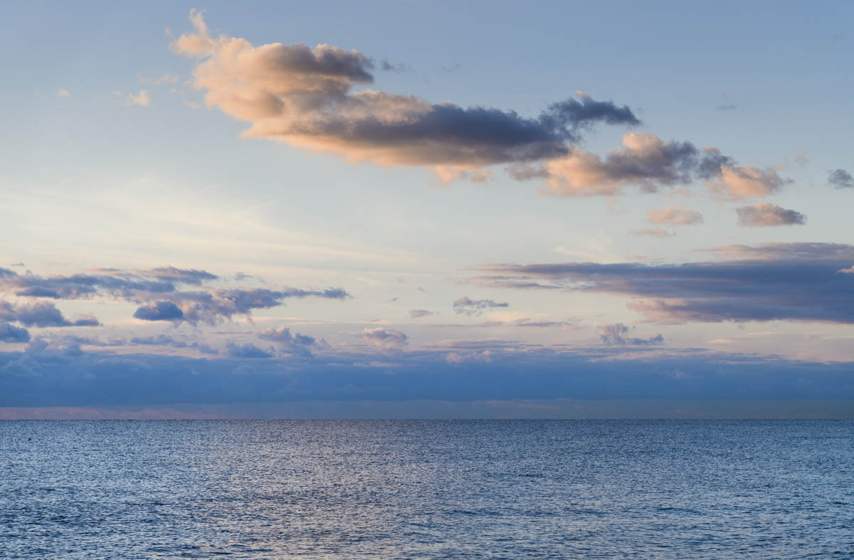 Free stock photo Scenic view of sea against sky during sunset