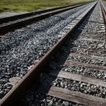 Free stock photo High angle view of railroad tracks