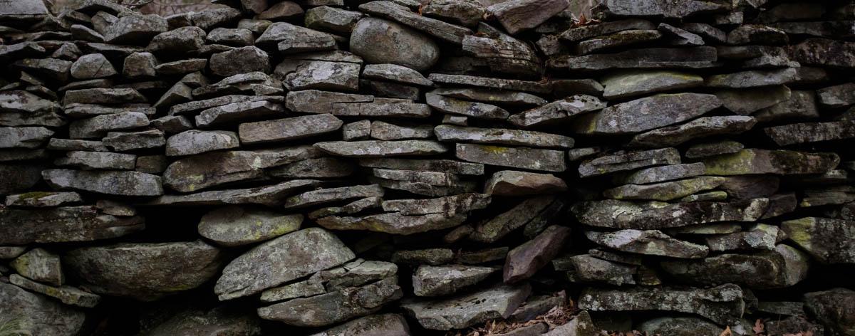Free stock photo Panoramic shot of stone wall