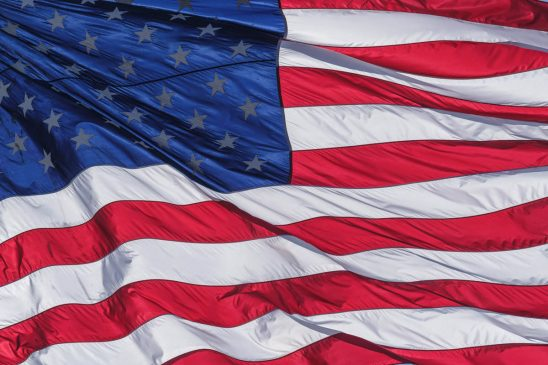 Free stock photo Close-up of american flag